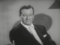 ジョン・ウェイン 引用:Wikipedia (John Wayne Screenshot from Challenge of Ideas, The (Part 1), a PD movie. )